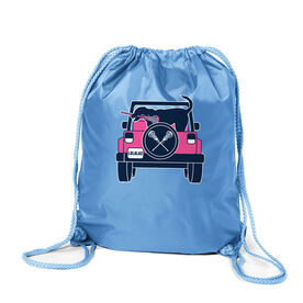 Girls Lacrosse Sport Pack Cinch Sack - Lax Cruiser