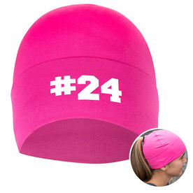 Performance Ponytail Cuff Hat Custom Team Number