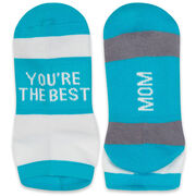 Socrates® Woven Performance Sock - You're The Best Mom