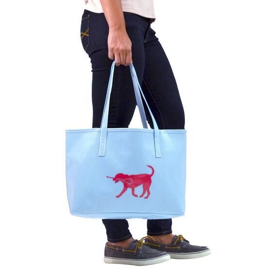 Girls Lacrosse Tote Bag (Kali) LuLa the Lax Dog