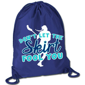 Skirts Fool You Lacrosse Sport Pack Cinch Sack