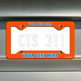 Custom License Plate Holder