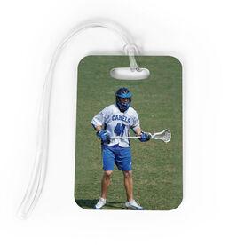Lacrosse Bag/Luggage Tag - Custom Photo