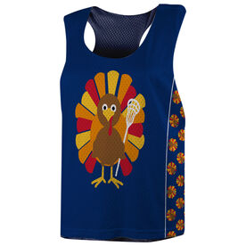 Girls Lacrosse Racerback Pinnie - Lax Turkey