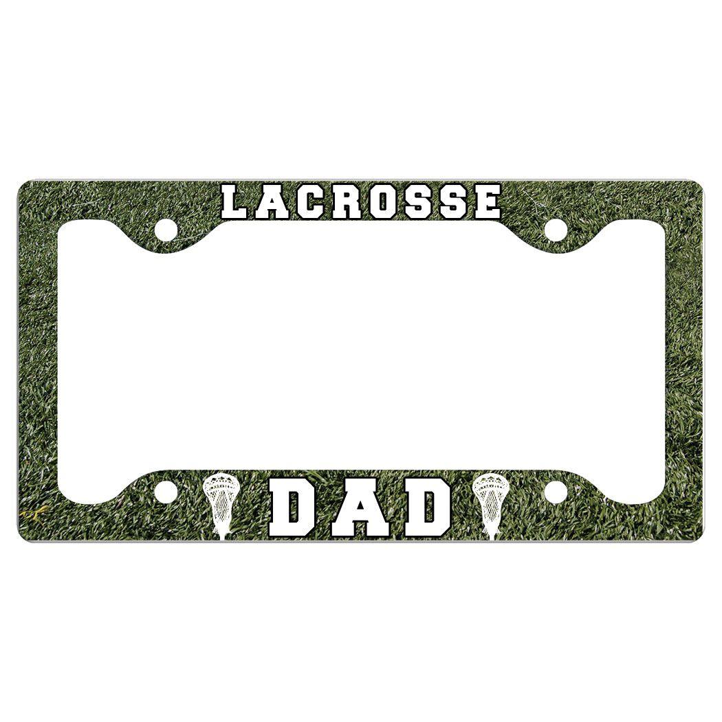 LACROSSE DAD License Plate Holder  sc 1 st  LuLaLax & Girls Lacrosse Car License Plate Holders | LuLaLax