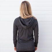 Girls Lacrosse Lightweight Performance Hoodie - Lacrosse Vibes