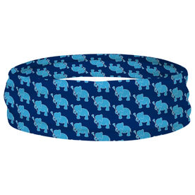 Girls Lacrosse Multifunctional Headwear - Lax Elephant Pattern RokBAND