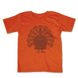 Girls Lacrosse Toddler Short Sleeve Tee - Turkey Player