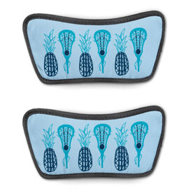 Girls Lacrosse Repwell® Sandal Straps - Pineapples