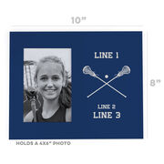 Girls Lacrosse Photo Frame - Custom Lacrosse Sticks