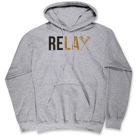 Girls Lacrosse Hooded Sweatshirt - Relax