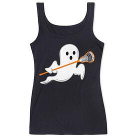 Girls Lacrosse Women's Athletic Tank Top Ghost