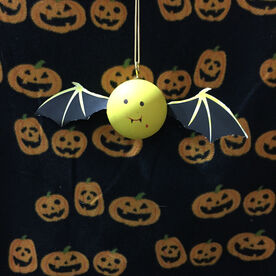Lacrosse DIY Halloween Bat Wings