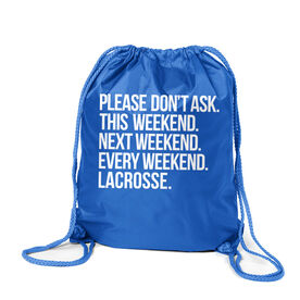 Lacrosse Sport Pack Cinch Sack - All Weekend Lacrosse
