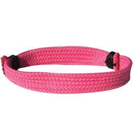 Lacrosse Shooting String Bracelet Solid Pink Adjustable Shooter Bracelet