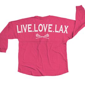 Lacrosse Statement Jersey Live Love Lax