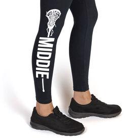 Girls Lacrosse Leggings - Middie