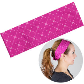 RunTechnology Tempo Performance Headband - Emma Pink