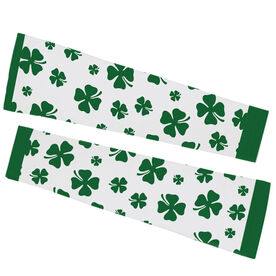 Printed Arm Sleeves - Lucky Clover