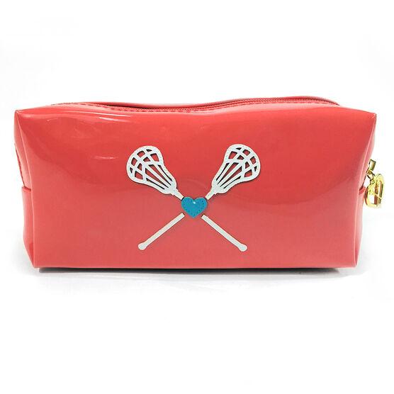 Lacrosse My Heart Lacrosse Cosmetic Bag - Lexi