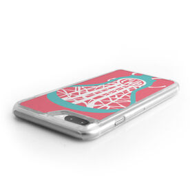 Girls Lacrosse iPhone® Case - Monogrammed Lax is Life