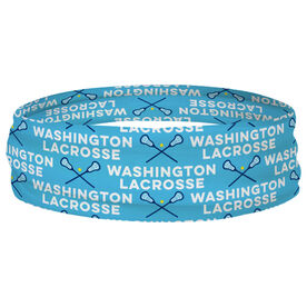Girls Lacrosse Multifunctional Headwear - Custom Team Name Repeat RokBAND