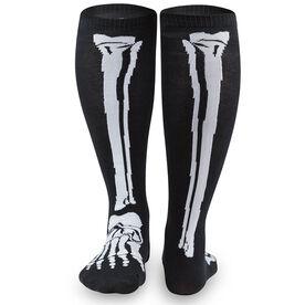 Yakety Yak Knee High Socks - Skeleton