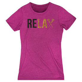 Girls Lacrosse Women's Everyday Tee - Relax