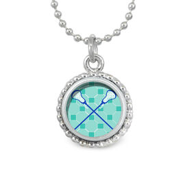 Lacrosse Crossed Girls Sticks SportSNAPS Necklace