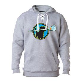 Lacrosse Sport Lace Sweatshirt - Lacrosse Dog