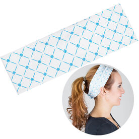 RunTechnology Tempo Performance Headband - Emma Blue