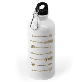 Girls Lacrosse 20 oz. Stainless Steel Water Bottle - Lacrosse Arrows