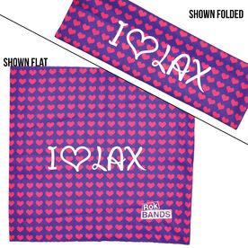 RokBAND Multi-Functional Headband - I Heart Lax