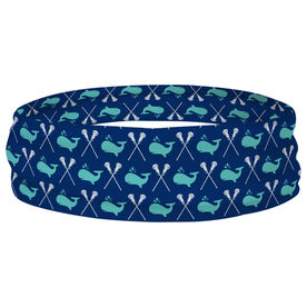 Girls Lacrosse Multifunctional Headwear - Lax Whales RokBAND