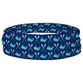 Girls Lacrosse Multifunctional Headwear - Lax Whales RokBAND