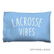 Girls Lacrosse Pillow Case - Lacrosse Vibes