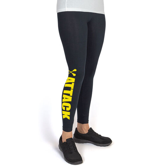 Girls Lacrosse Leggings Lacrosse Attack
