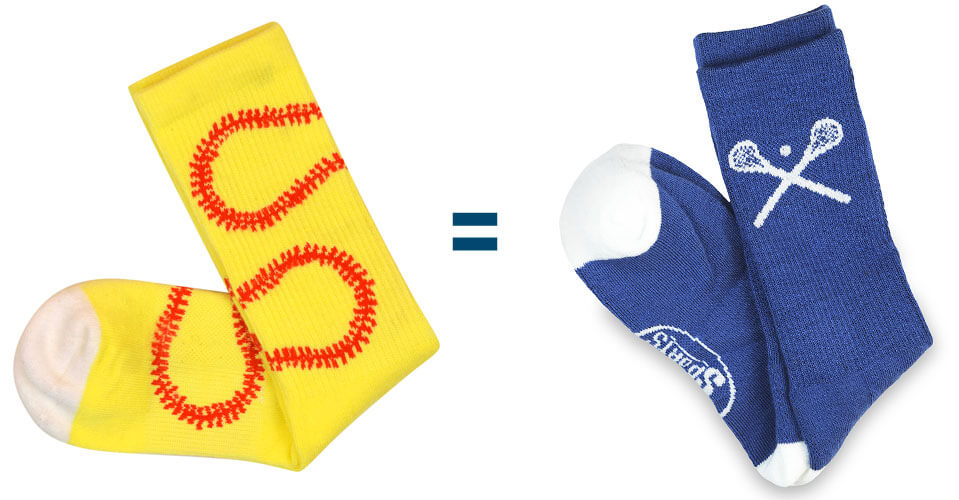 Buy 1 Pair of Socks and We Will Donate 1 Pair of Socks