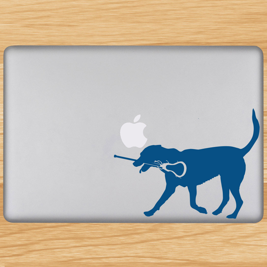 Girls Lacrosse Removable LuLaGraphix Laptop Decal LuLa The Lax Dog Click to  Enlarge 4ac81134aa58