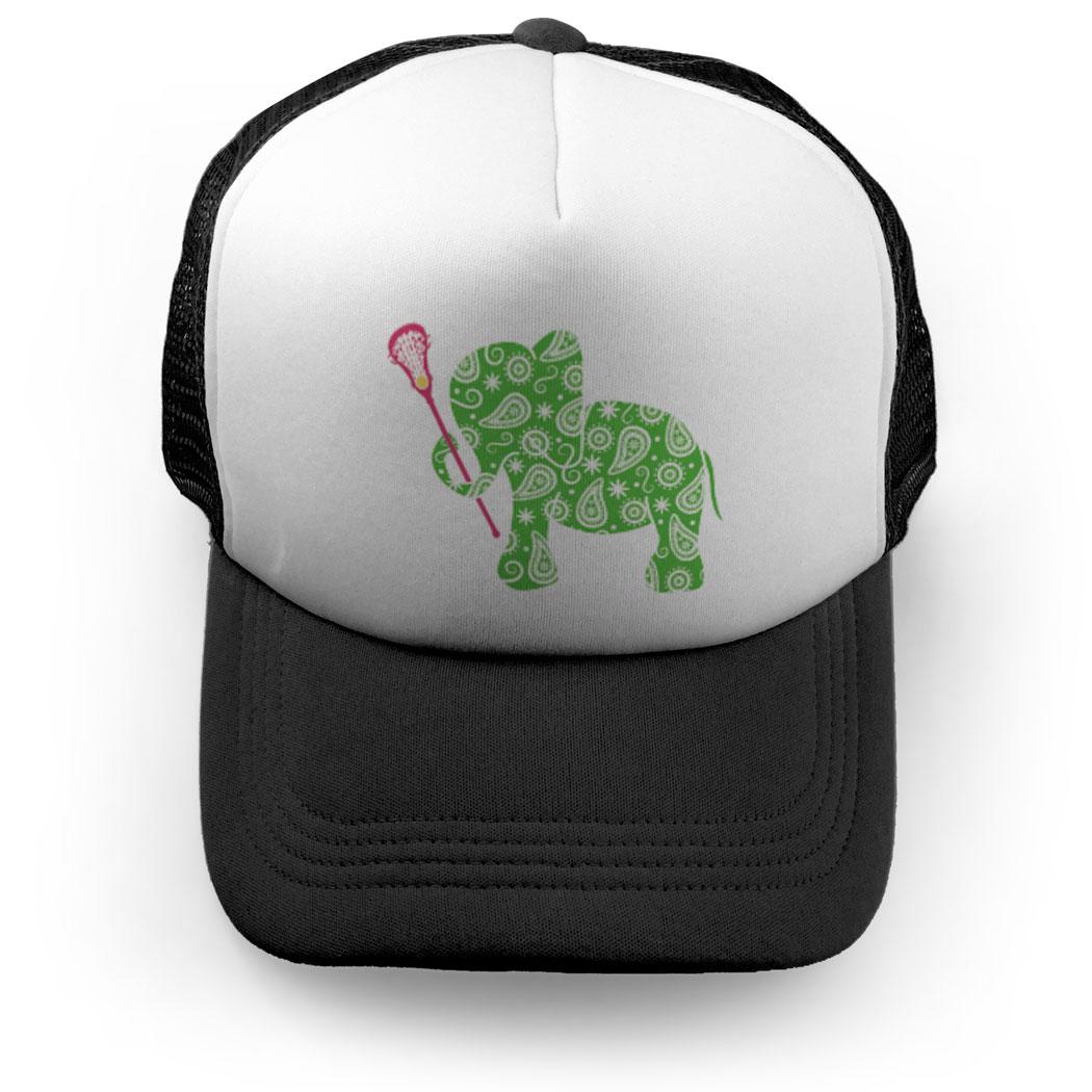 Girls Lacrosse Trucker Hat - Lax Elephant Click to Enlarge 1083b34eefbe