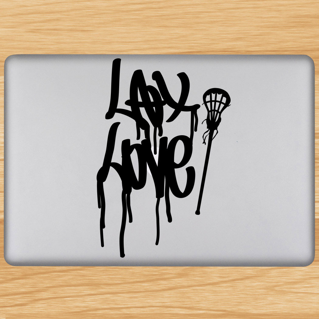 Lax love removable lulagraphix laptop decal click to enlarge