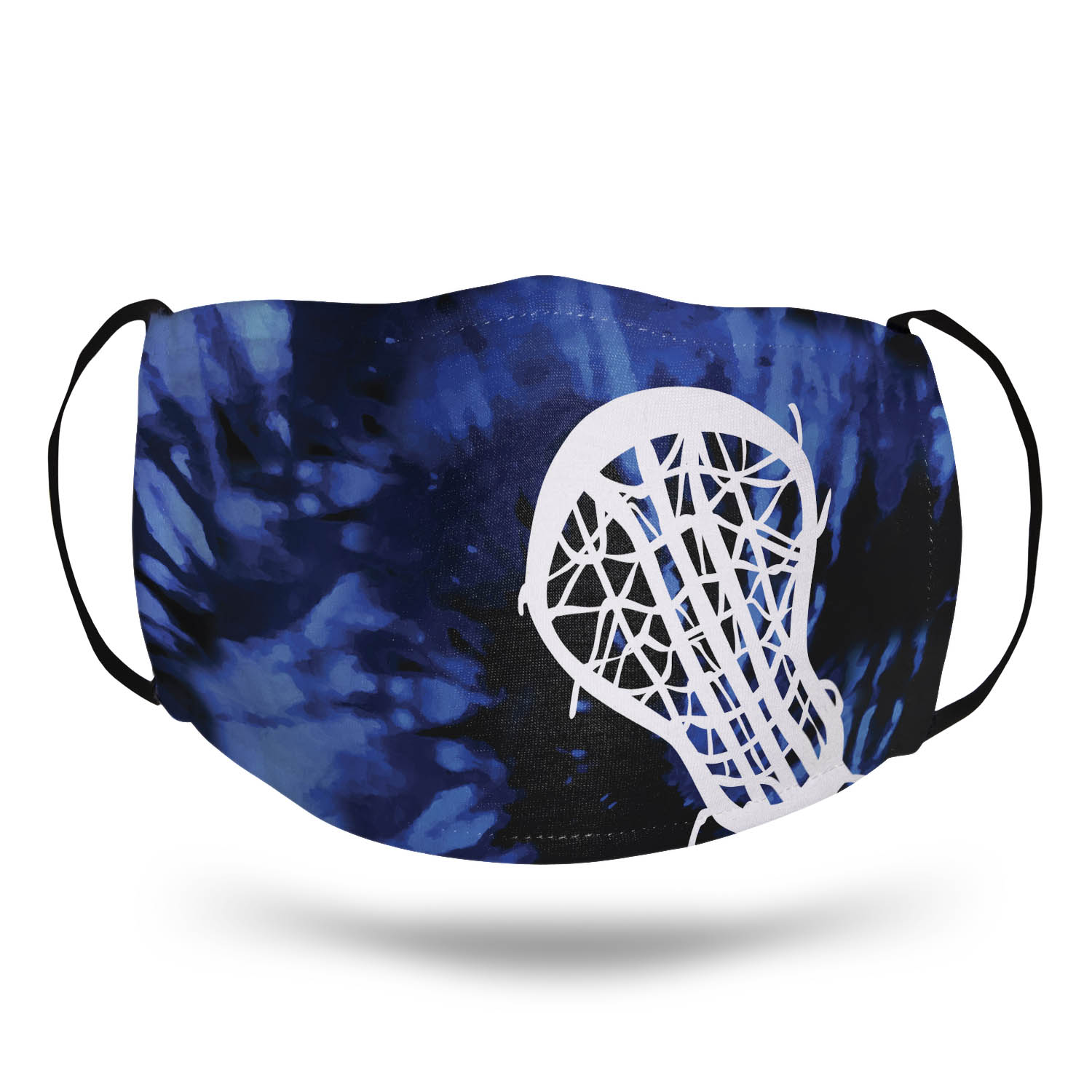 Girls Lacrosse Face Mask - Stick with Tie-Dye