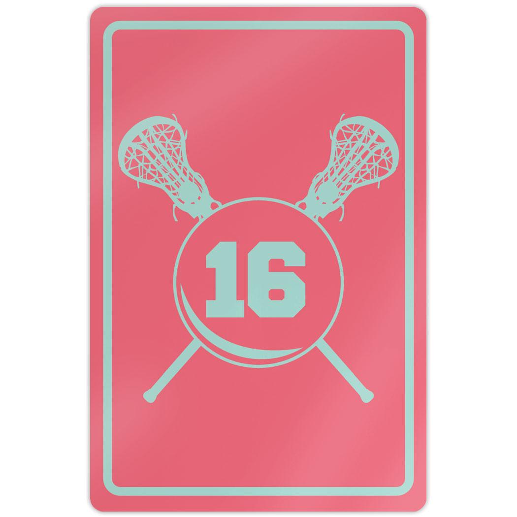 Girls Lacrosse Room Decor