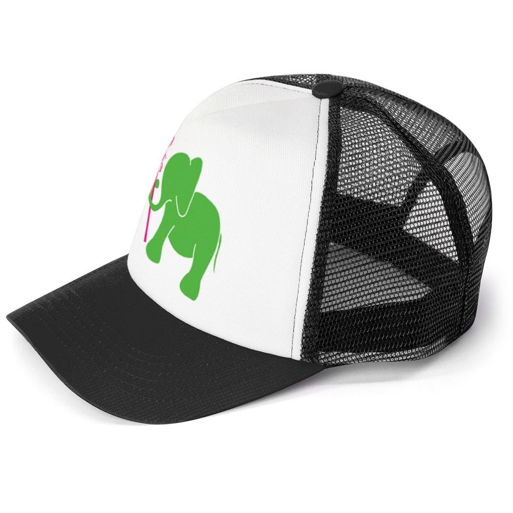 ... Girls Lacrosse Trucker Hat - Lax Elephant ... 9ebd986e09a8