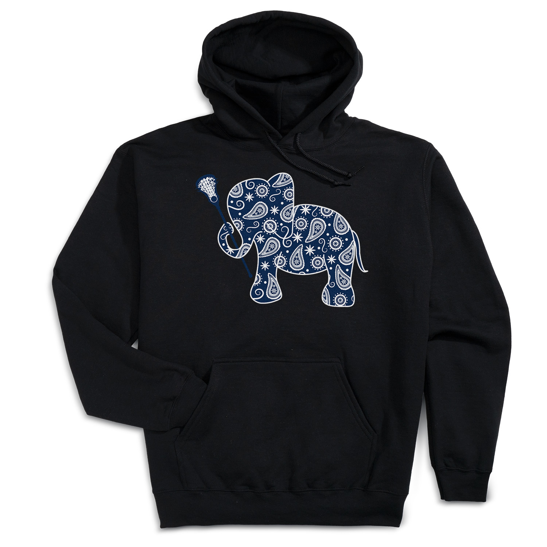 Girls Lacrosse Hooded Sweatshirt - Lax Elephant Click to Enlarge 784b57cff480