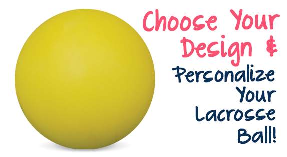 Girls Custom Lacrosse Balls