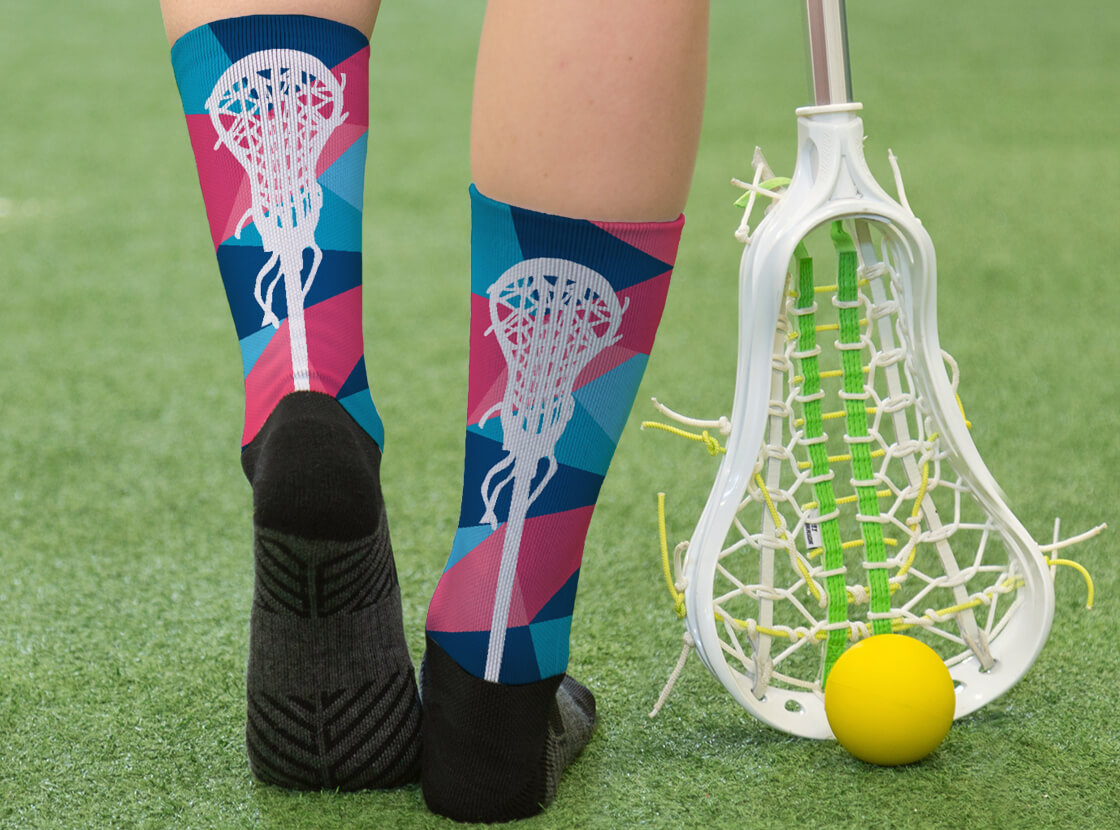 Prism Lacrosse Printed Mid-Calf Socks