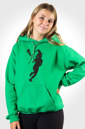 Grls Lacrosse Lax Witch Hooded Sweatshirt