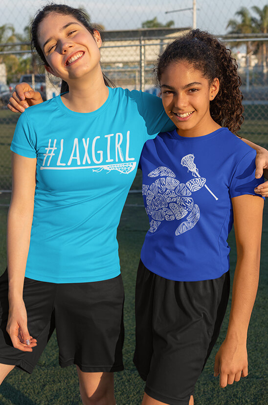 Shop Our Girls Lacrosse Tees