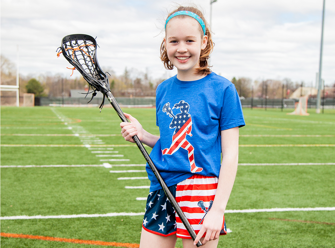 Shop Our Girls Lacrosse Patriotic Gifts